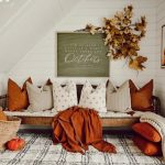 Affordable Cozy Fall Decor For Living Room In 2021 | Plantiful Interiors