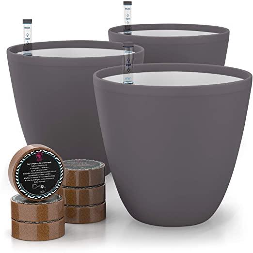 Self Watering Pot For Indoor Plants - Plantiful Interiors